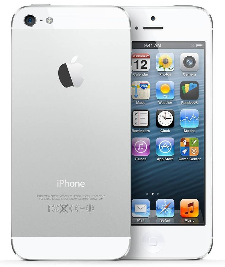 Apple iPhone 5 16GB Silver, Vit