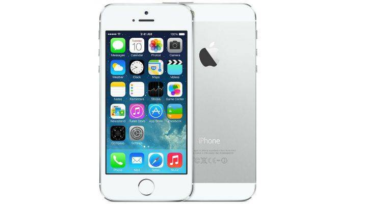 Apple iPhone 5S 16GB Vit/Silver