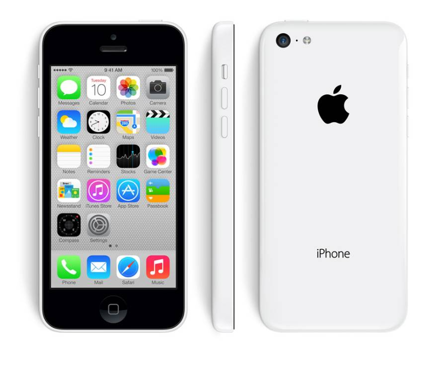 Apple iPhone 5C 16GB Vit