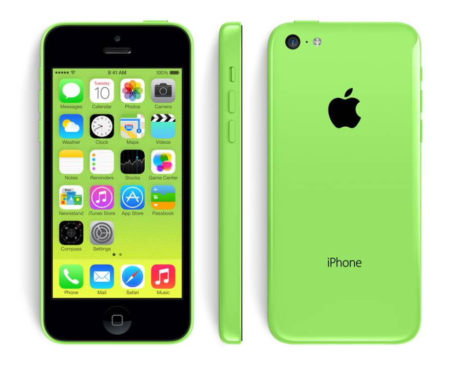 Apple iPhone 5C 16GB Grön