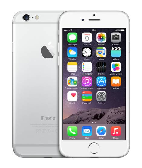 Apple iPhone 6 16GB Vit/Silver
