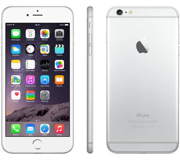 Apple iPhone 6 Plus 16GB Vit/Silver