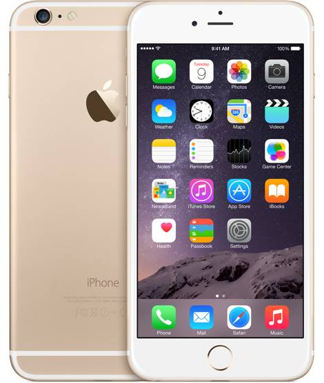 Apple iPhone 6 Plus 16GB Vit/Guld