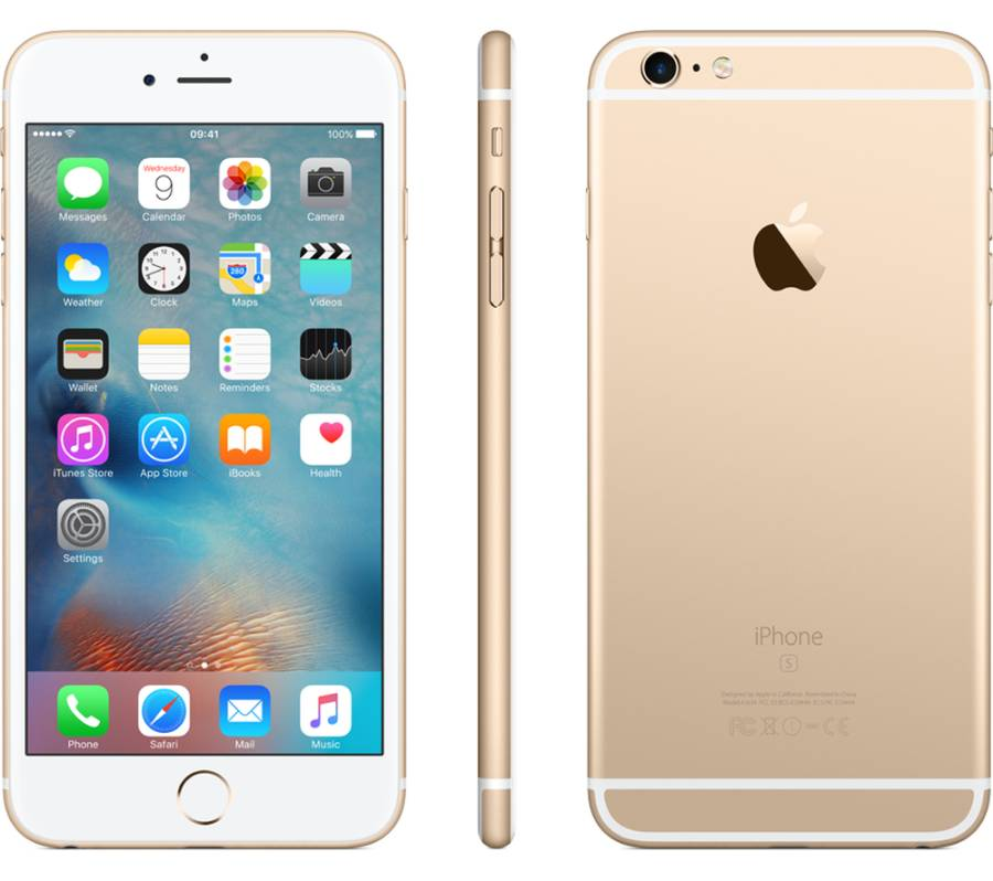 Apple iPhone 6S Plus 16GB Vit/Guld
