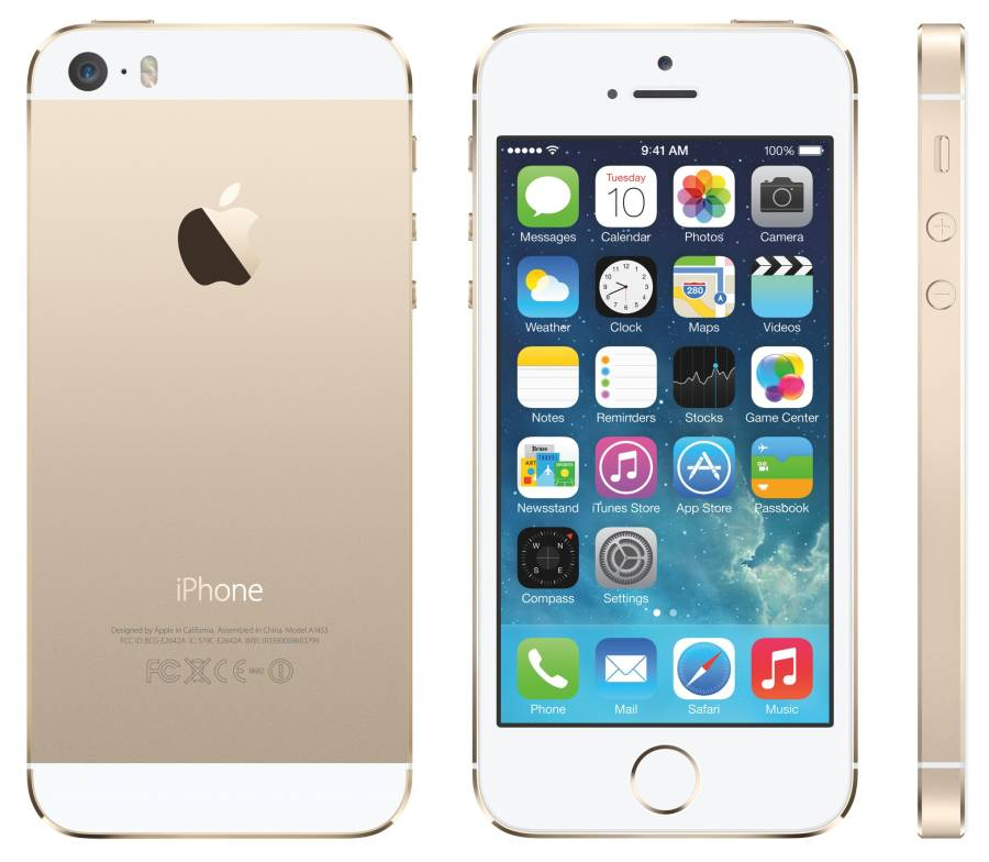 Apple iPhone 5S 16GB Vit/Guld Utan TouchID
