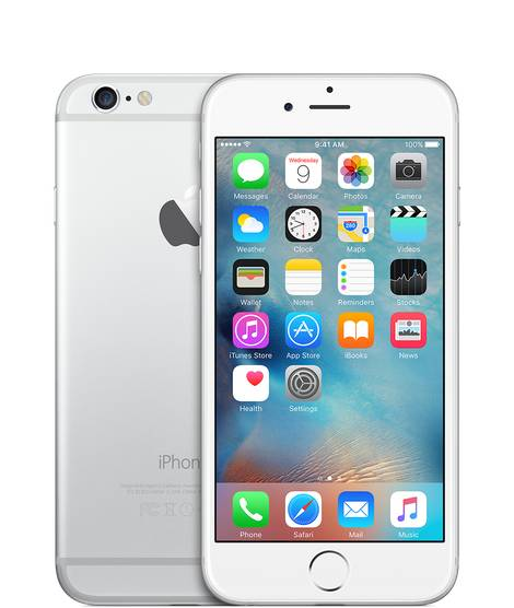 Apple iPhone 6 16GB Vit/Silver Utan TouchID