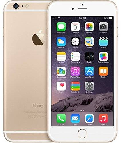 Apple iPhone 6 Plus 16GB Vit/Guld Utan TouchID