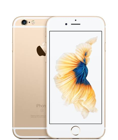 Apple iPhone 6S 16GB Vit/Guld Utan TouchID