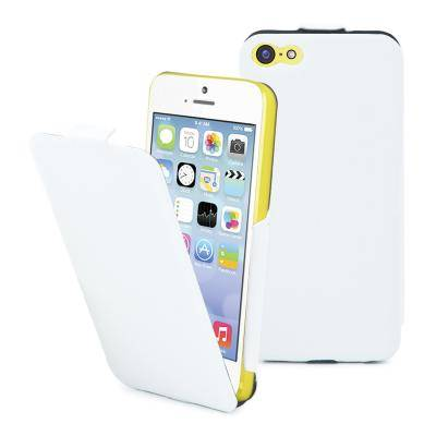 Apple Muvit iFlip case till iPhone 5c - Vit