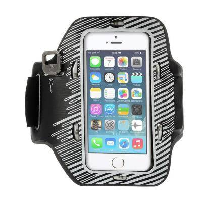 Armband med blinkande lampor till Apple iPhone 5S/5/5C - Vit