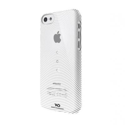 Apple White Diamonds Gravity till iPhone 5C - Transparent/Vit