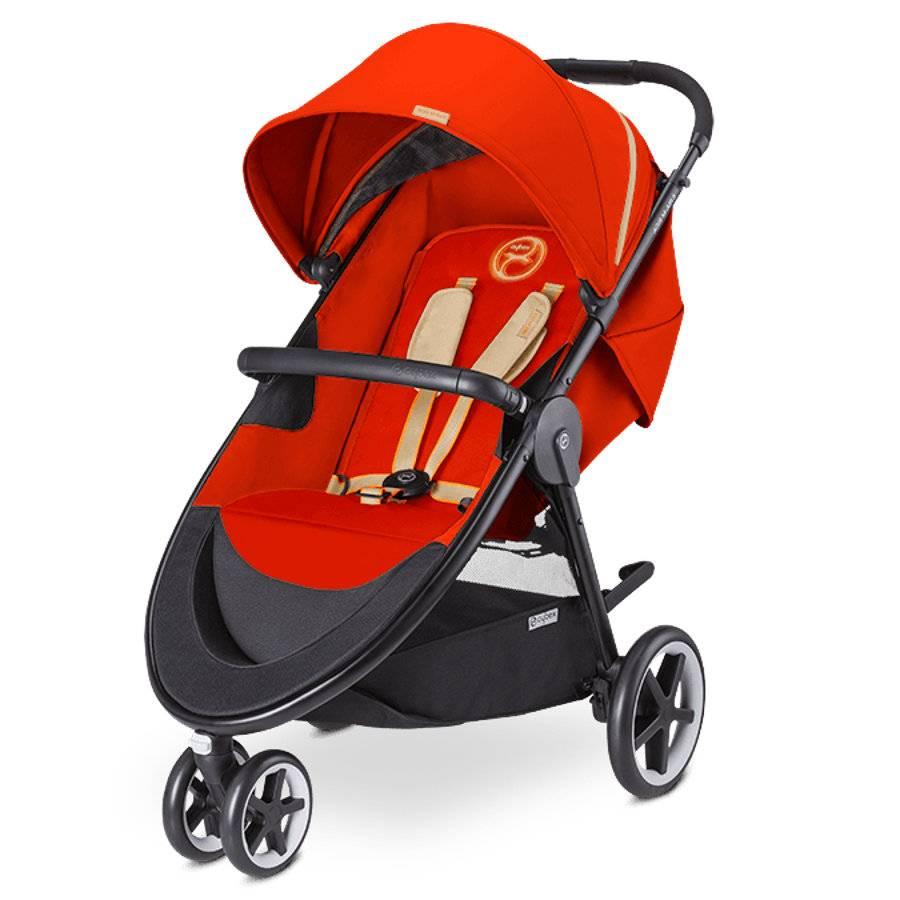 CYBEX GOLD Sittvagn Agis M-Air 3 Autumn Gold-burnt red