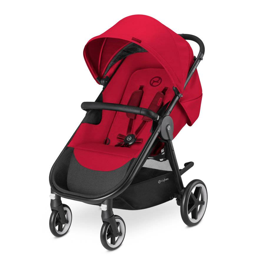 cybex Sittvagn Agis M-Air 4 Infra Red - Red