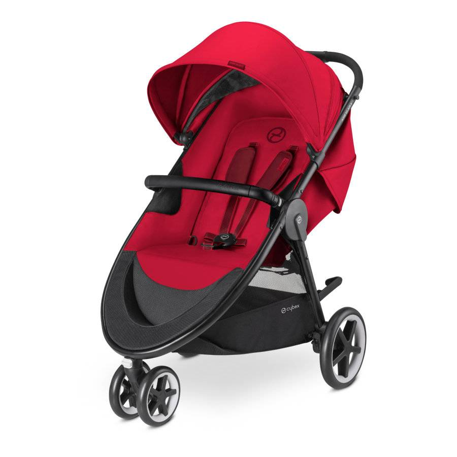 cybex Sittvagn Agis M-Air 3 Infra Red - Red