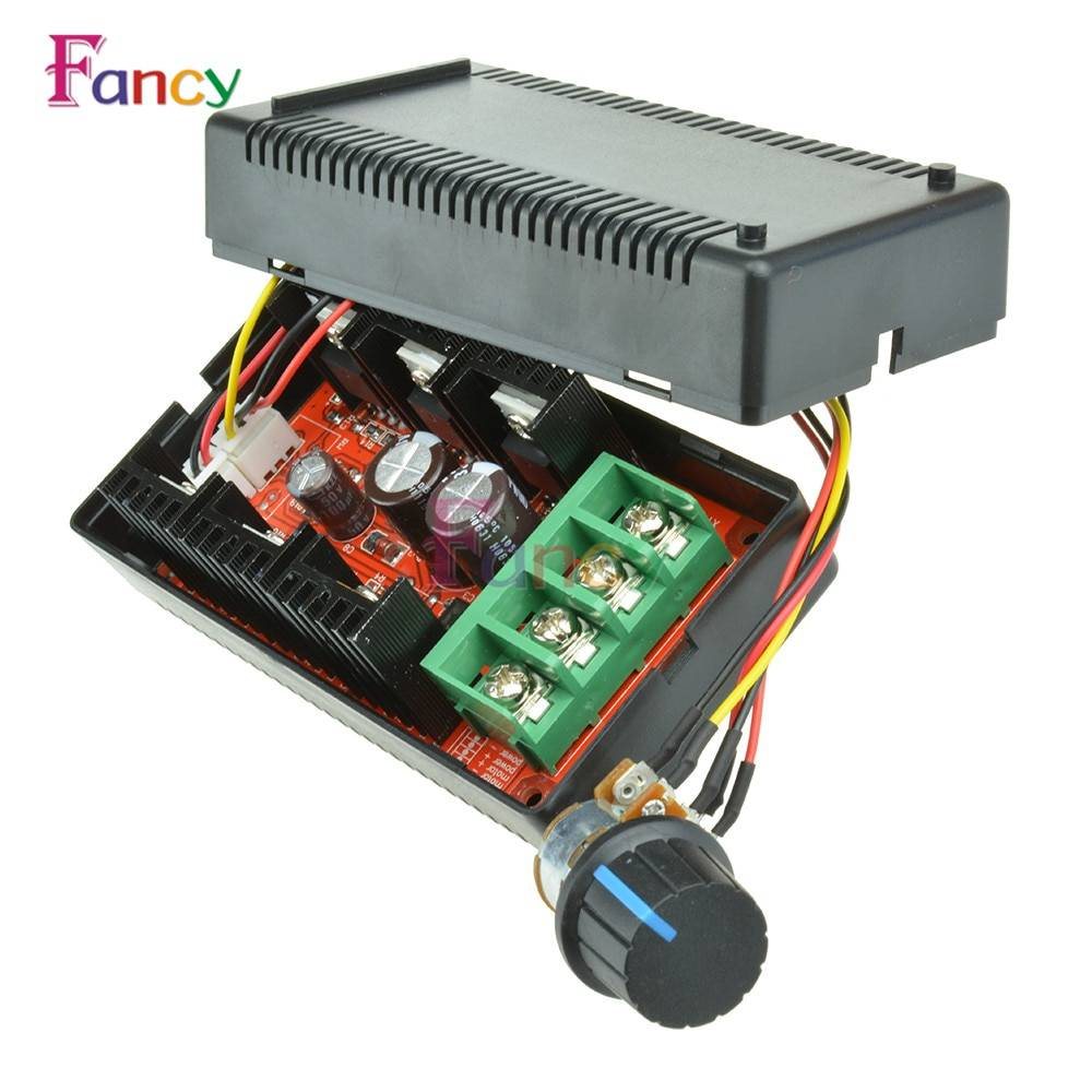 12V 24V 48V 2000W MAX 10-50V 40A PWM HHO DC Motor Speed Control RC Controller Manufacturer Direct Supply