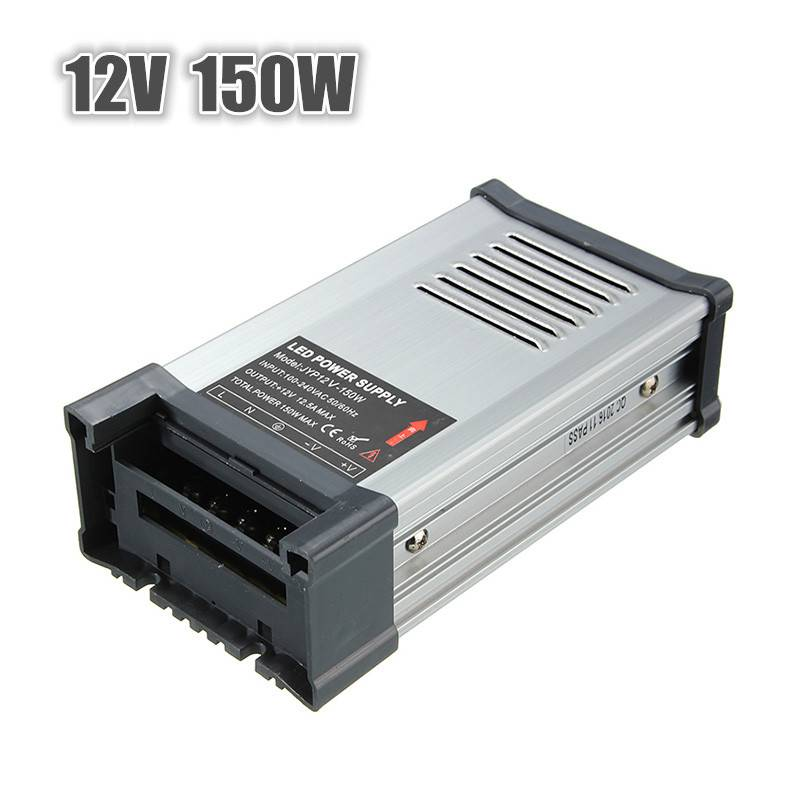Meco IP65 AC 100V-264V To DC 12V 150W Switching Power Supply Driver Adapter