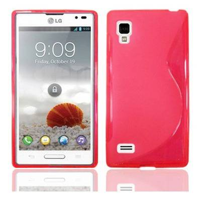 Unbranded Back cover p760 optimus l9 style pink
