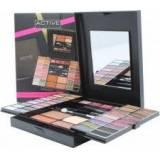 Active Cosmetics Active Glamour Endless Colour Compact With Mirror 36 Eyeshadows + 4 Lipsticks + 2 Blushers + 1 Bronzer Powder + 1 Eye Liner + Applicators
