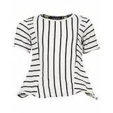 Velour By Nostalgi Julianne Striped Tee