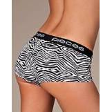 Pieces Logo Lady Boxers Animal