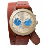 Triwa Turtle Twist Brasco Chrono Beige DCAC103