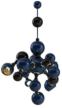 Delightfull Atomic takpendel - Blue lacquered