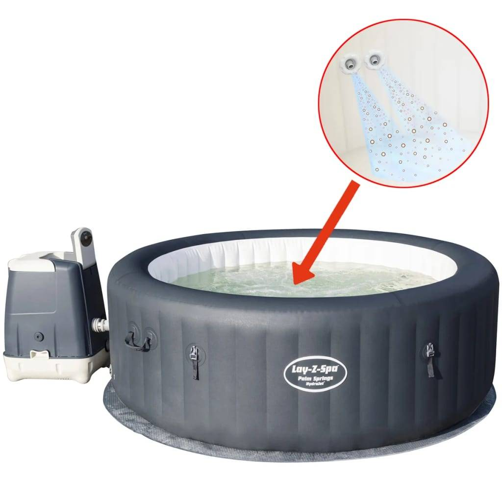 Bestway Lay-Z-Spa Palm Springs HydroJet Badtunna 54144