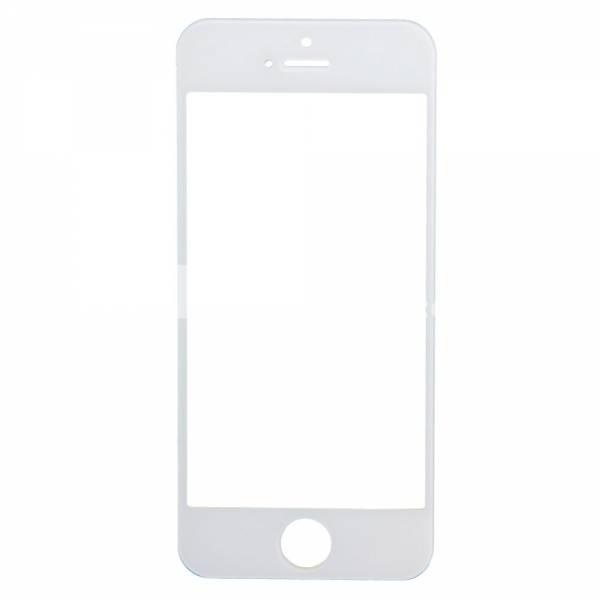 Apple iPhone 5/5S/5C Glas med Tejp - Vit