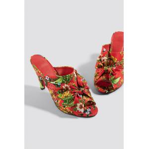 reputable site 35e39 40f51 NA-KD Shoes Bow Detail Mule Heels - Högklackat - Red,Multicolor The.