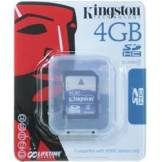 Kingston SDHC Card 4GB Class 4