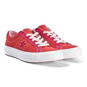 d40553ea5297 Converse Red One Star OX Sneakers Barnskor 38 (UK 5.5) Add a pop of.