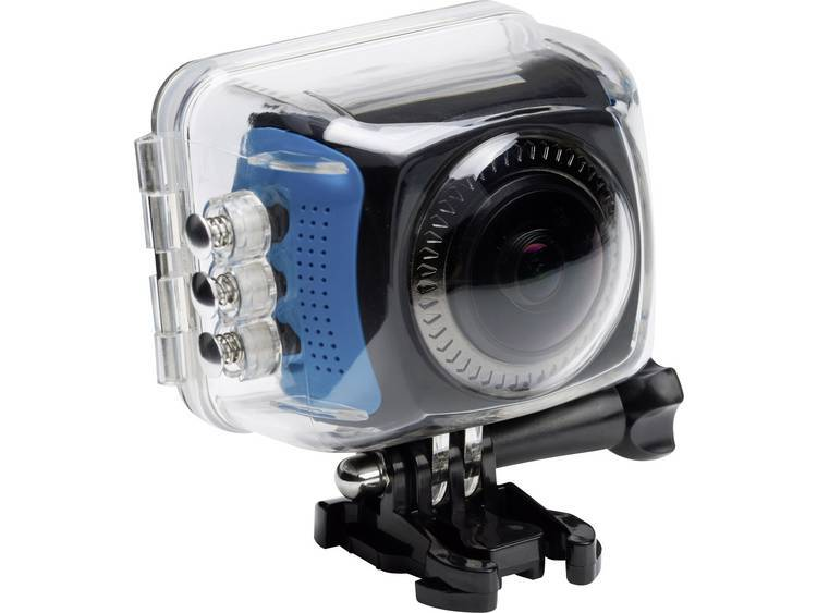 Discovery Adventures Actionkamera Discovery Adventures HD 720P 360° Action Camera Territory Svart/Blå
