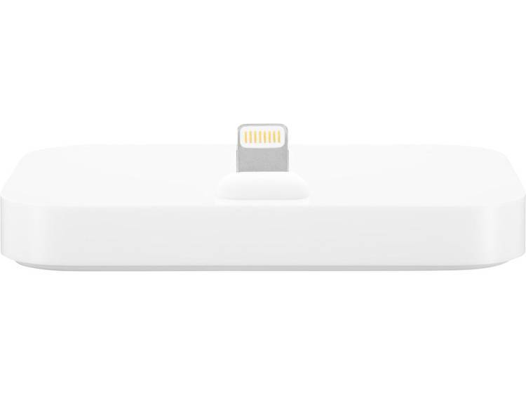 Apple Dockningsstation för iPhone Apple iPhone Lightning Dock Apple iPhone 5, Apple iPhone 5C, Apple iPhone 5S, Apple iPhone SE, Apple iPhone 6 , Apple iPhone 6 Plus, Apple iPhone 6S, Apple iPhone 6S Plus, Apple iPhone 7, Apple iPhone 7 Plus Vit