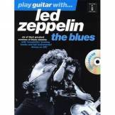 Music Sales Play guitar with Led Zeppelin - The Blues - bok och CD