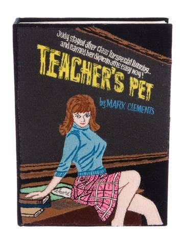 Olympia Le-Tan Teacher's Pet Box Clutch w/ Tags