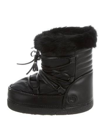 Gucci Girls' GG Snow Boots