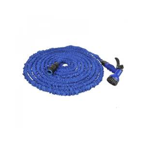 Expandable water hose 22,5M with 7 function spray gun