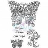 Sue Dix Designs - Flights of Fantasy Clear Stamp size A6