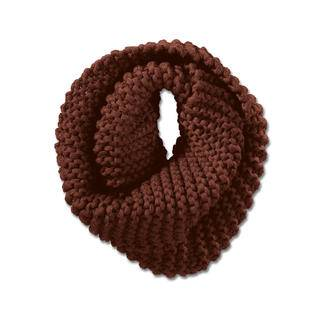 Strickmadame by Zebratod Hand-Knitted Headband or Loop Scarf, Mahogany - Loop Scarf