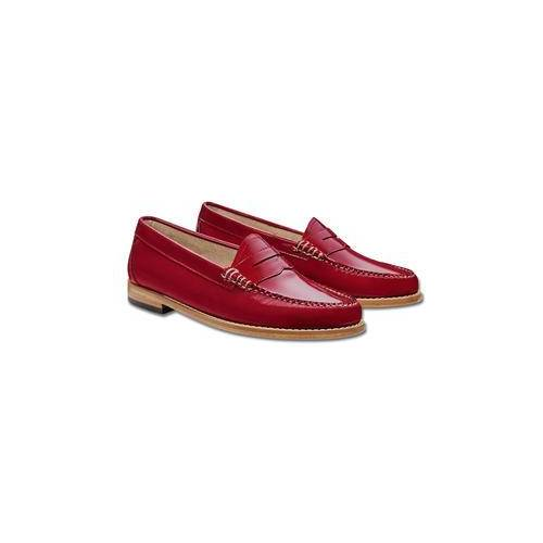 """G. H. Bass Penny Loafers """"Weejuns"""", 8 - Red"""