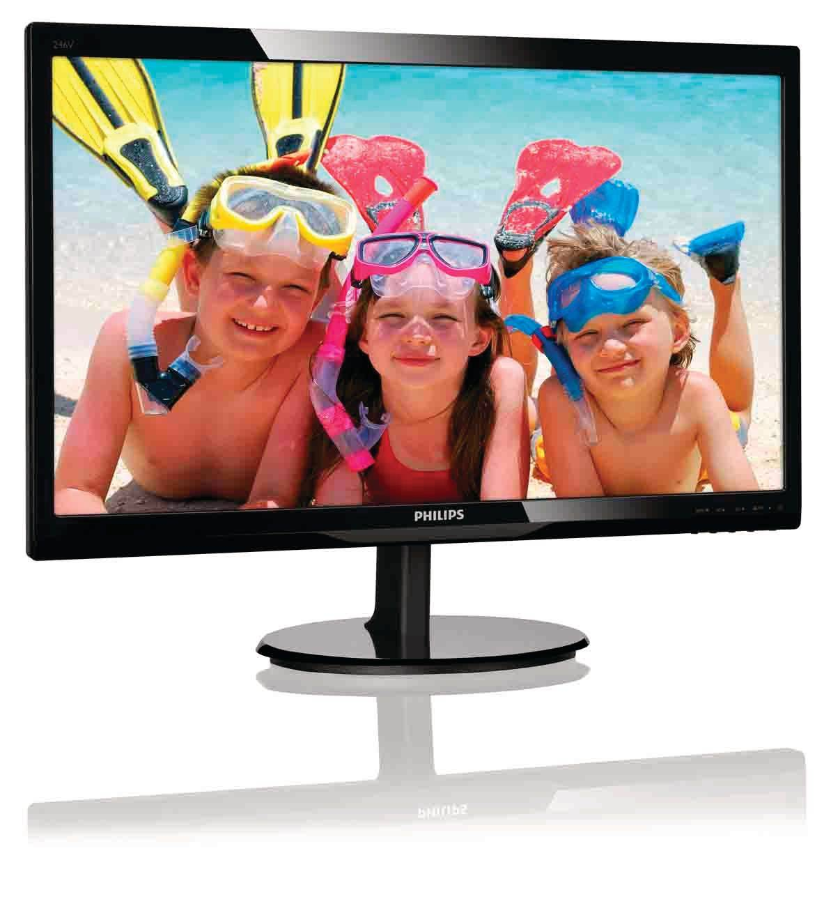 Philips LCD monitor with SmartControl Lite 246V5LHAB/00