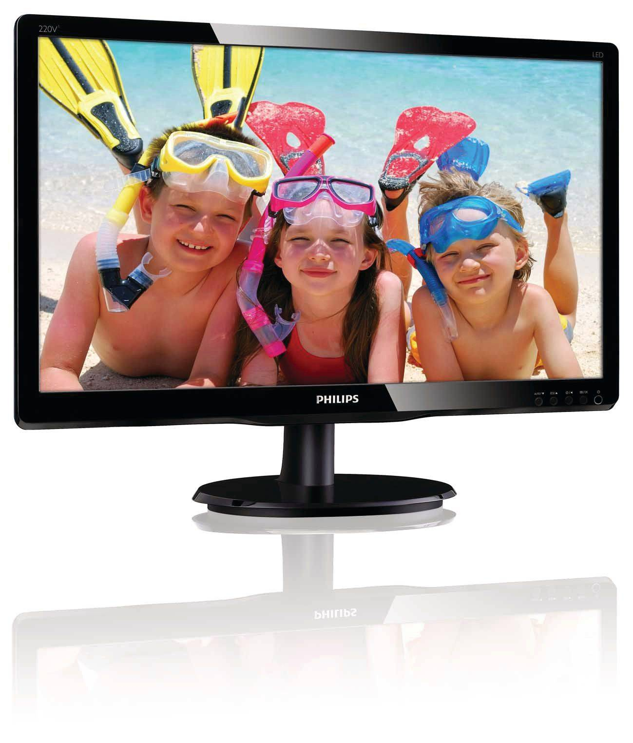 Philips LCD monitor with LED backlight 220V4LSB/00
