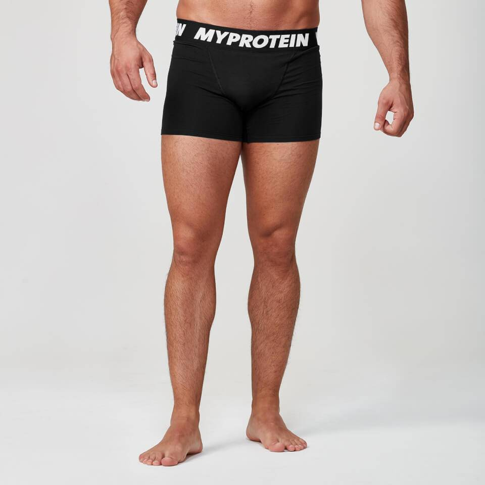 Myprotein Classic Boxers - XL - Black/Black
