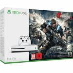 Microsoft Xbox One S 1TB Console - Includes Gears of War 4
