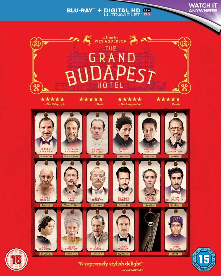 20th Century Fox The Grand Budapest Hotel (Includes UltraViolet Copy)
