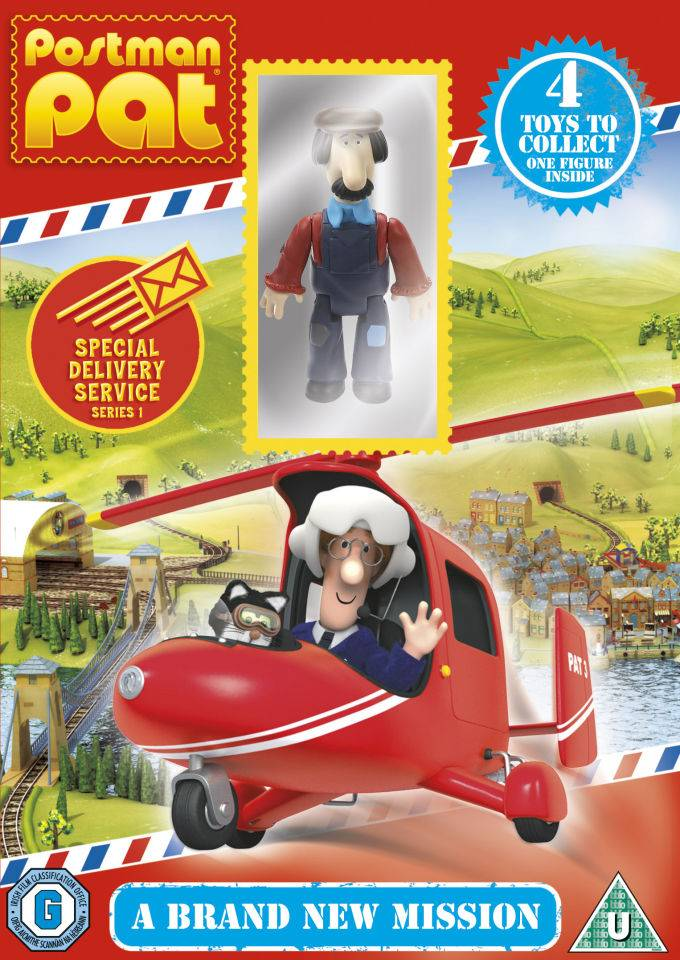 Universal Pictures Postman Pat: Special Delivery Service - A Brand New Mission (Includes Ted Glen Figurine)