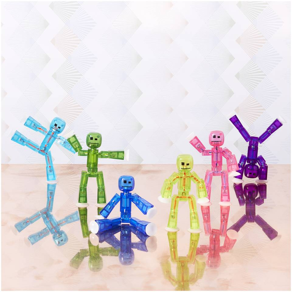 Brainstorm Toys StikBot Figure Toy - 6 Pack