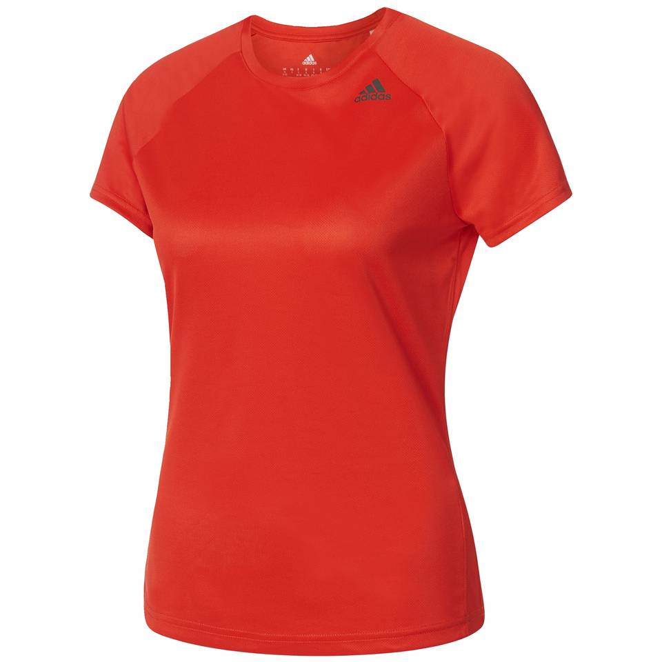 adidas Women's D2M Lose T-Shirt - Core Red - XS - Core Red