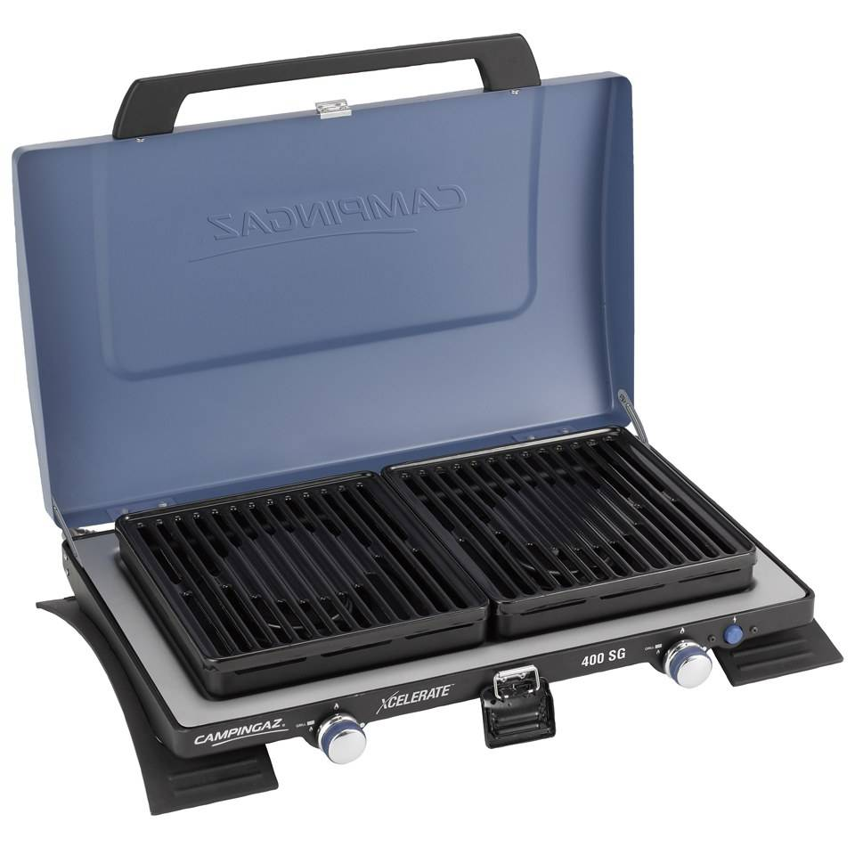 Campingaz Series 400 SG Double Burner and Grill Stove