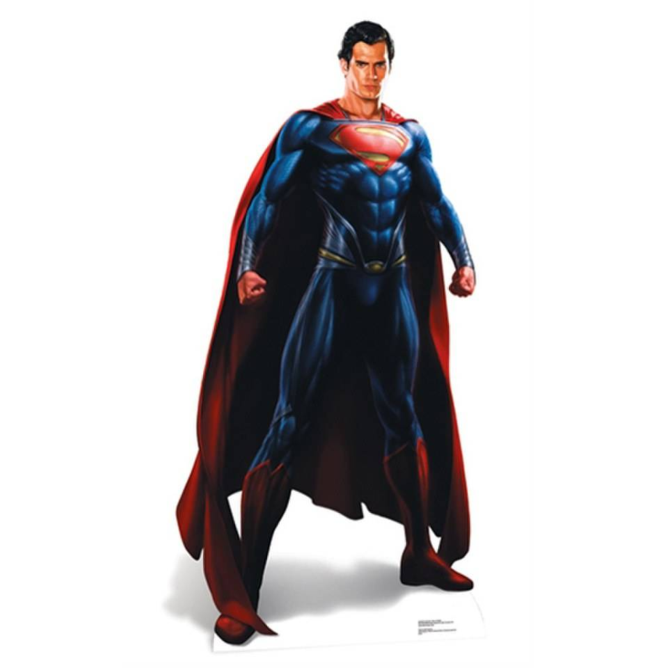 Star Cut Outs DC Comics Superman Man of Steel Cut Out